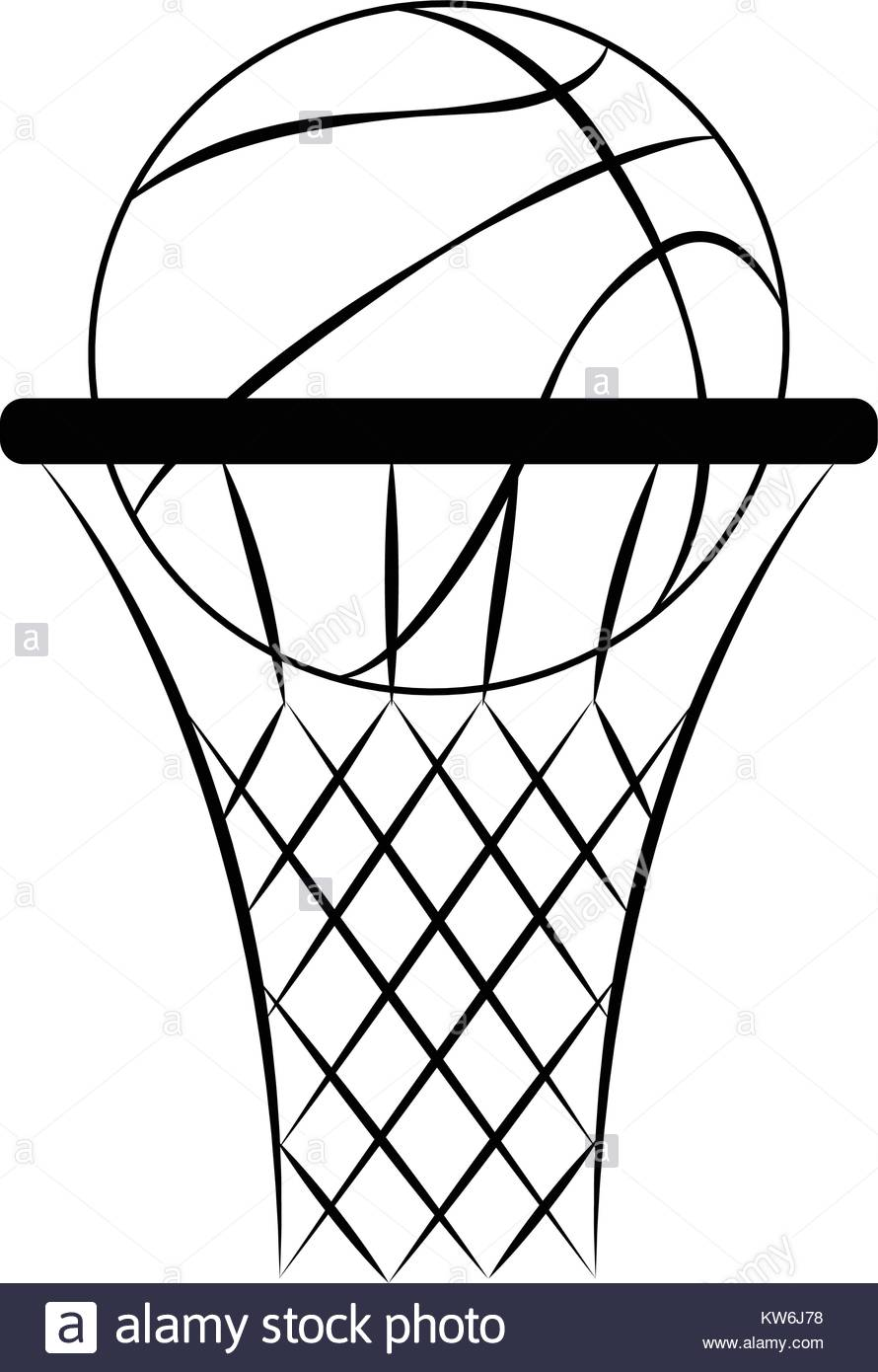 890x1390 Basket Ball Court Black And White Stock Photos Amp Images