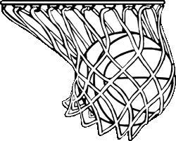 Basketball Hoop Drawing