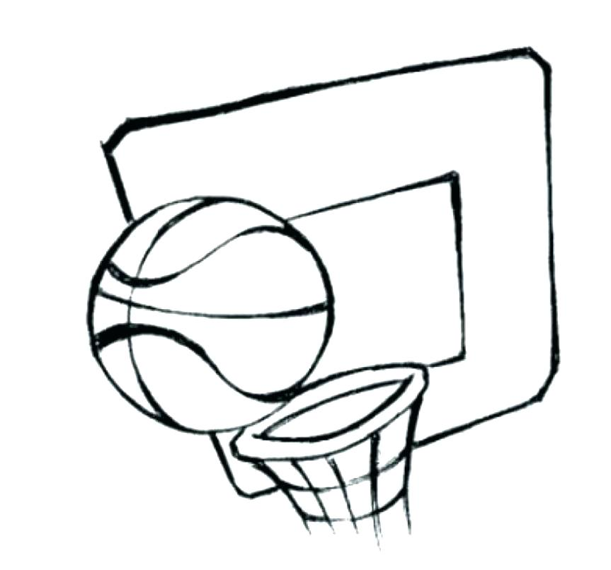 863x806 Basketball Color Pages Heat Basketball Coloring Pages This Is Red