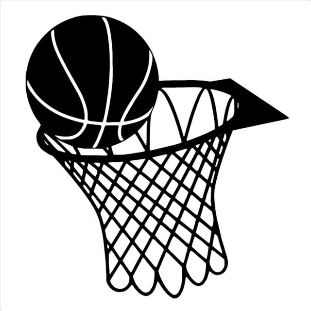 Line Drawing Basketball : Basketball hoop drawing at getdrawings free for