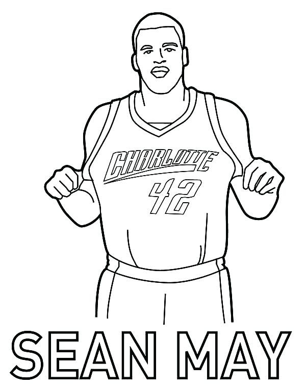 600x760 Beautiful Nba Basketball Coloring Pages Print Coloring Pages