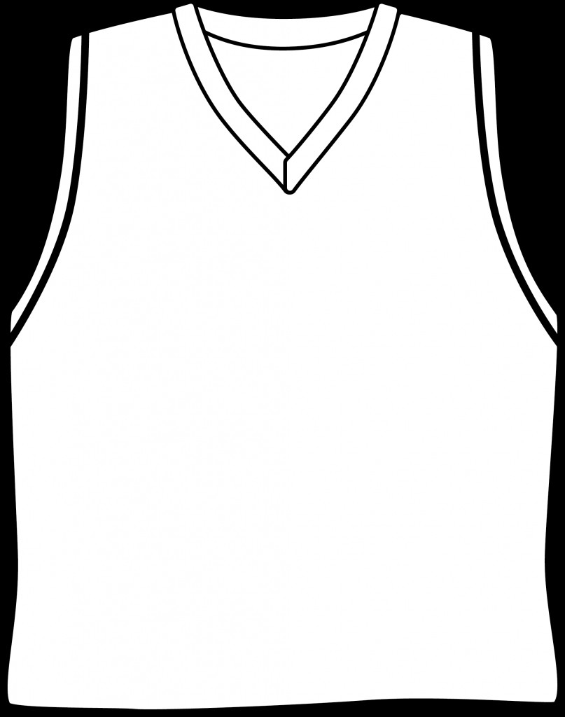 Basketball Jersey Drawing At Getdrawings Com Free For Personal Use