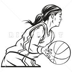 236x236 Line Drawing Sports Clip Art