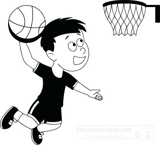 550x497 Clipart Basketball Pin Drawing Basketball 6 Basketball Player