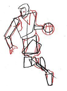 220x296 How To Draw A Basketball Player Drawingcoloring