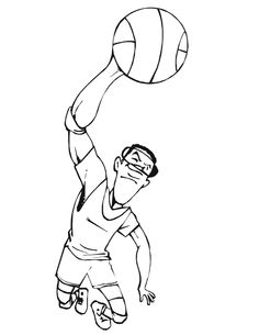 236x305 Basketball Player Coloring Page Coloring Pages