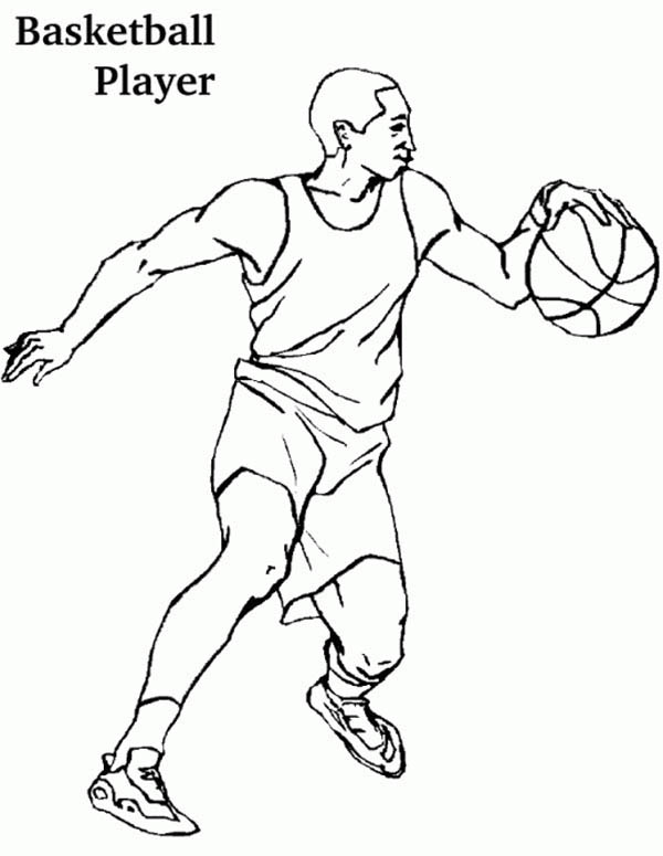 Basketball Players Drawing at GetDrawings