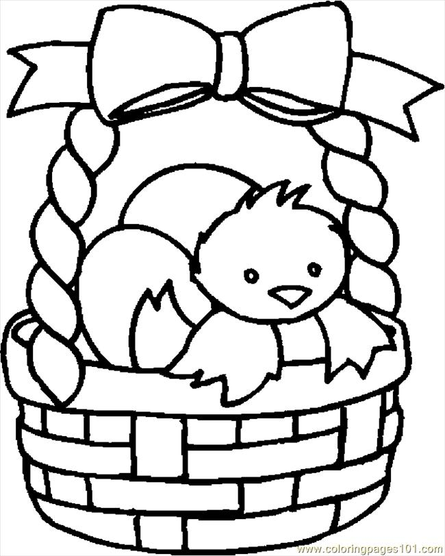 650x812 Large Basket Coloring Pages