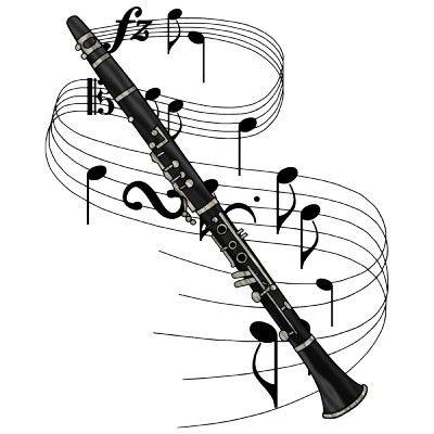 400x400 Bass Clarinet Clipart Etc Tattoos Bass Clarinet