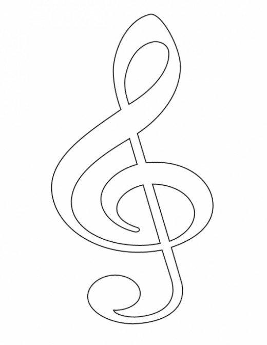 520x672 Free Clip Art Music Symbols