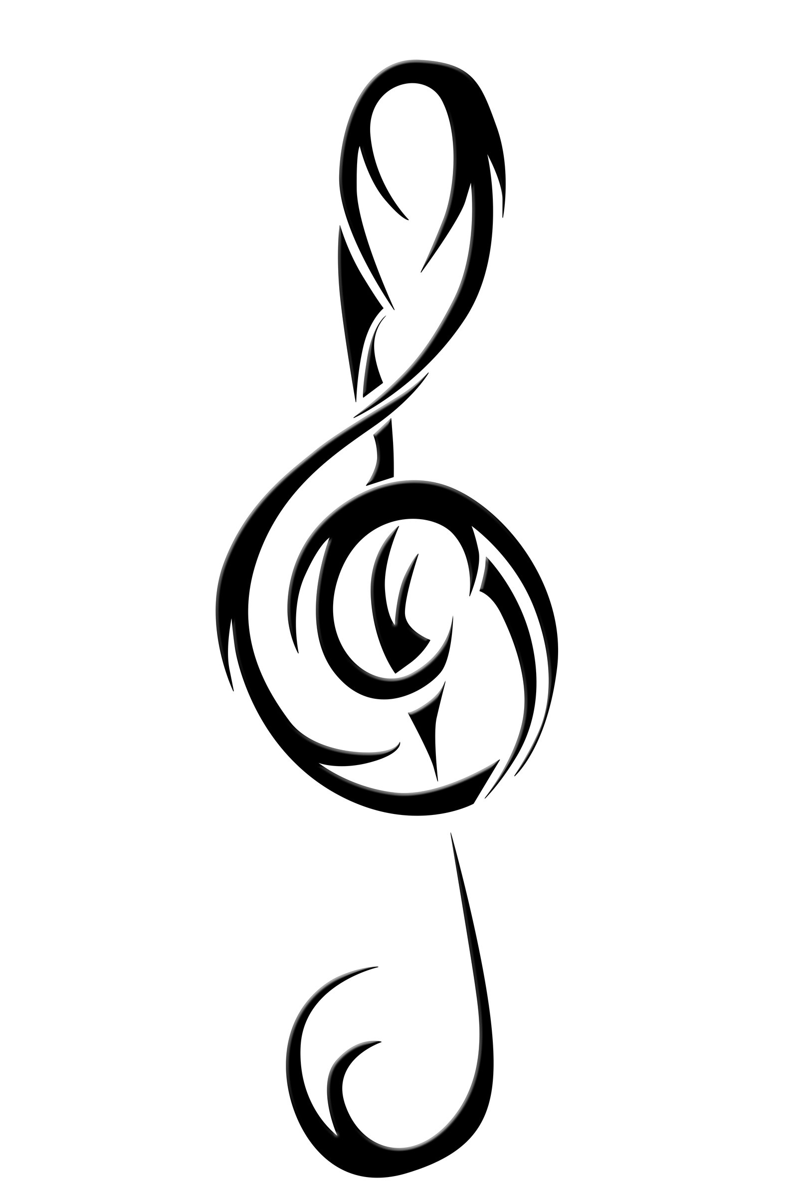 1600x2400 Pin By Linda Samuelson On Music Tattoo Ideas Treble