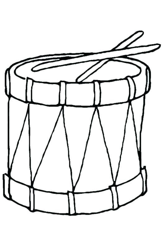 531x750 Drum Coloring Page Drums Coloring Page Coloring Page Drum Drum Kit