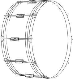 236x255 Drum Kit Blueprint Drawing Postcards Drum Ideas Amp Music