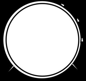 299x282 Bass Drum Clip Art