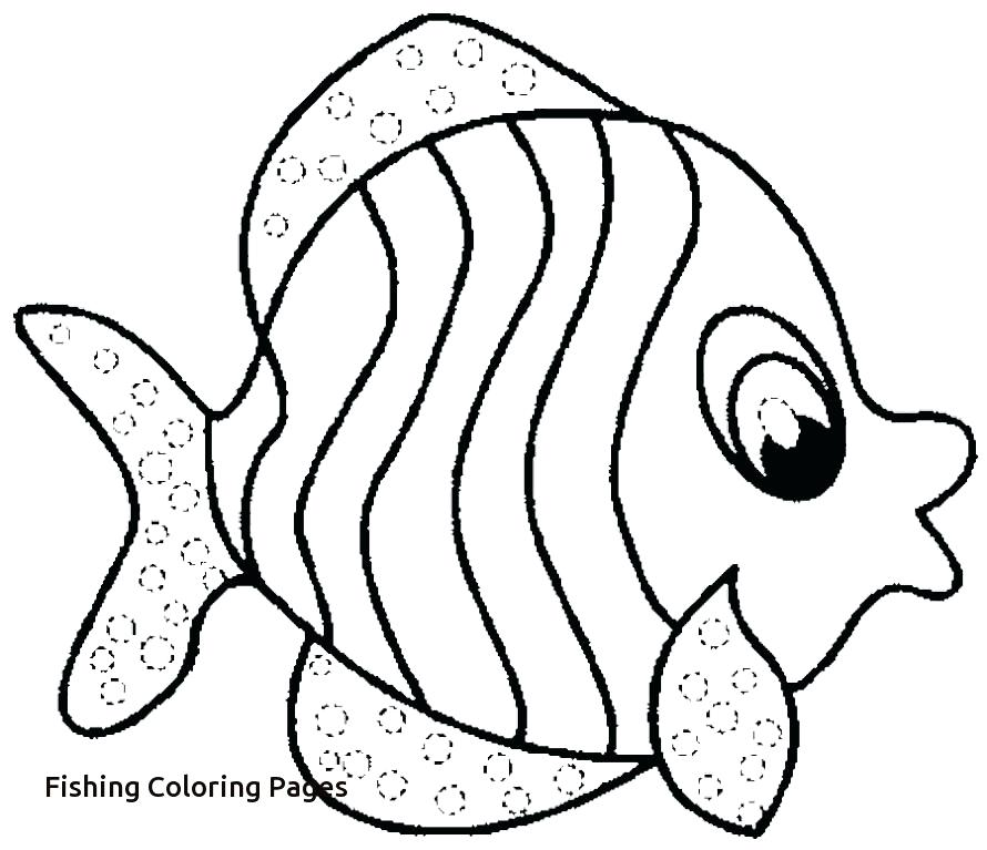 890x767 Bass Fishing Coloring Sheets Adult Printable Fish Pages Kid Crafts
