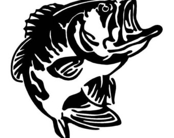 340x270 Fishing Clipart Largemouth Bass
