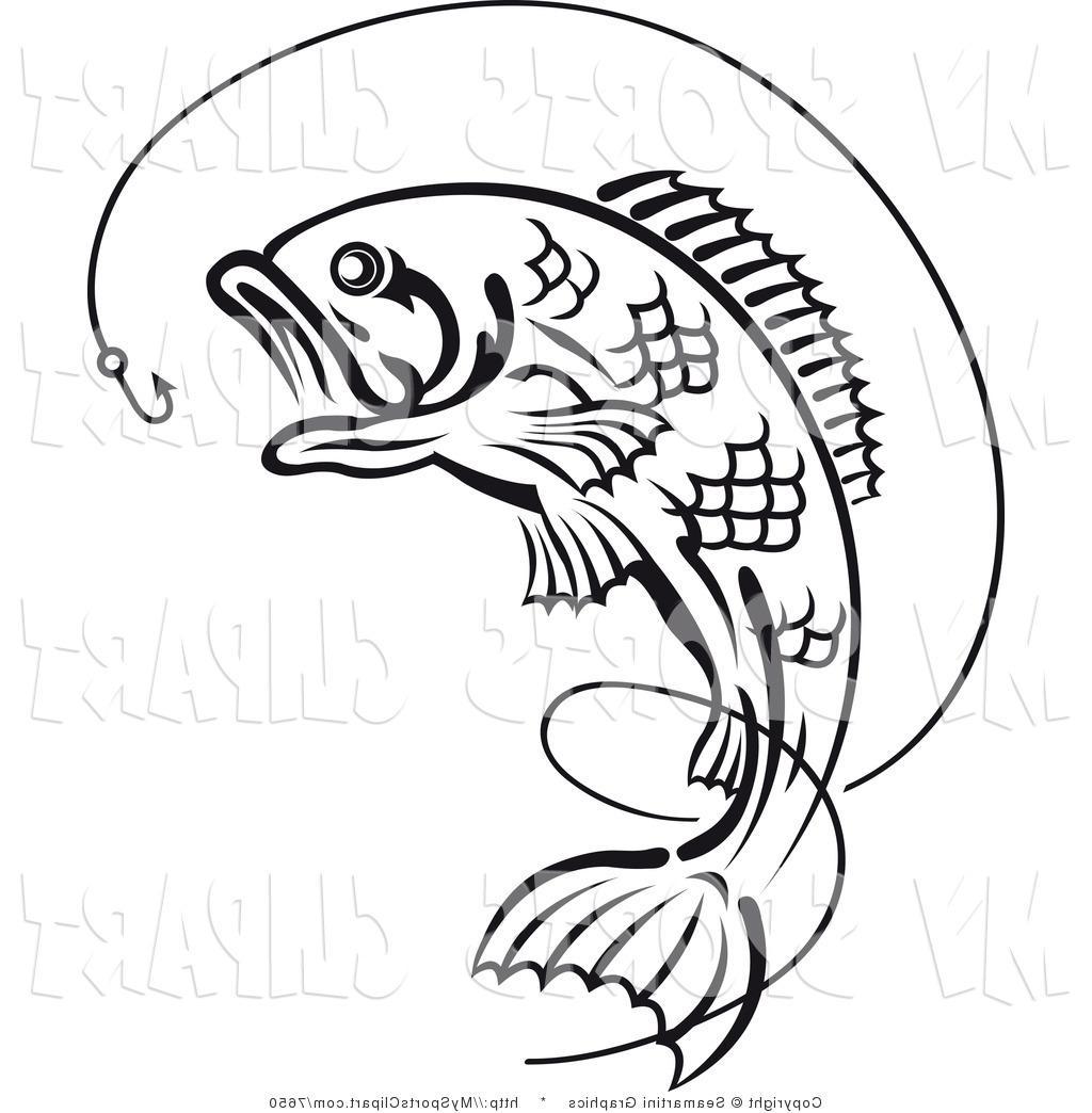 1024x1044 Unique Bass Fishing Rod Clip Art Vector Images Free Vector Art