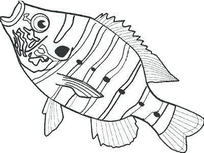 400x300 Bass Coloring Pages Bass Fish Coloring Pages Bass Coloring Pages