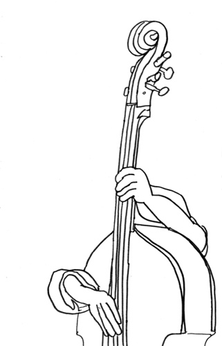 321x500 Double Bass Head A Fragment Of Lake Of Stew Texta Queen