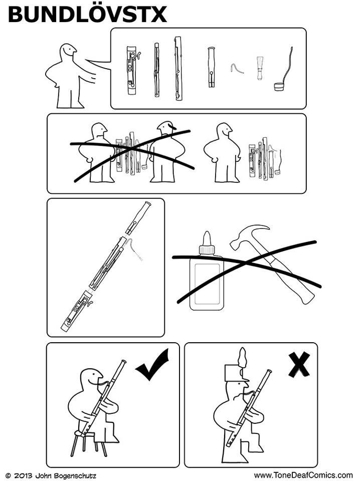 718x960 Ikea Bassoon Music Fun Bassoon