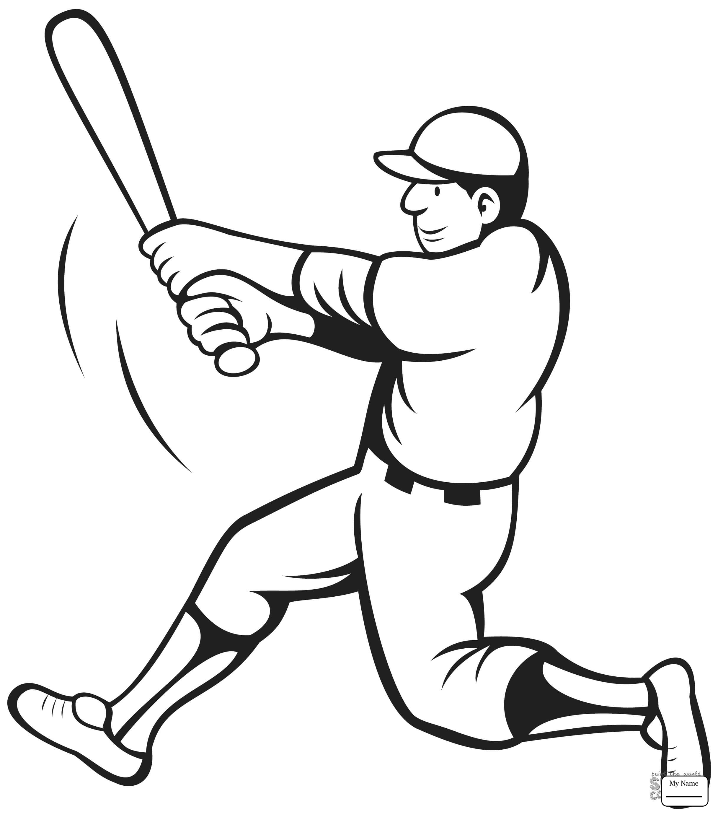 2432x2766 Baseball Baseball Bat And Ball Sports Coloring Pages For Kids