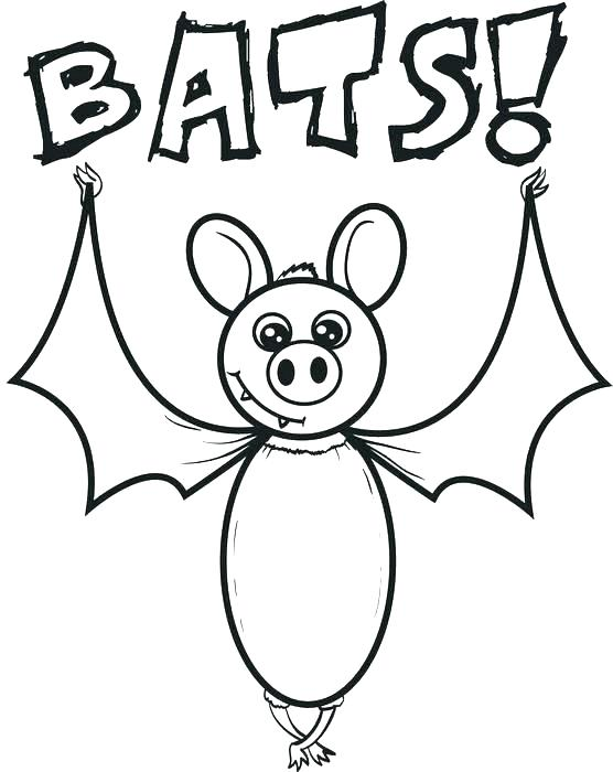 556x700 Bat Color Page Bat Coloring Pages Free Printable Cartoon Coloring