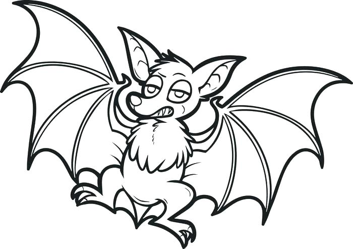 700x493 Minimalist Bat Coloring Pages Online Bats Free Printable Cartoon