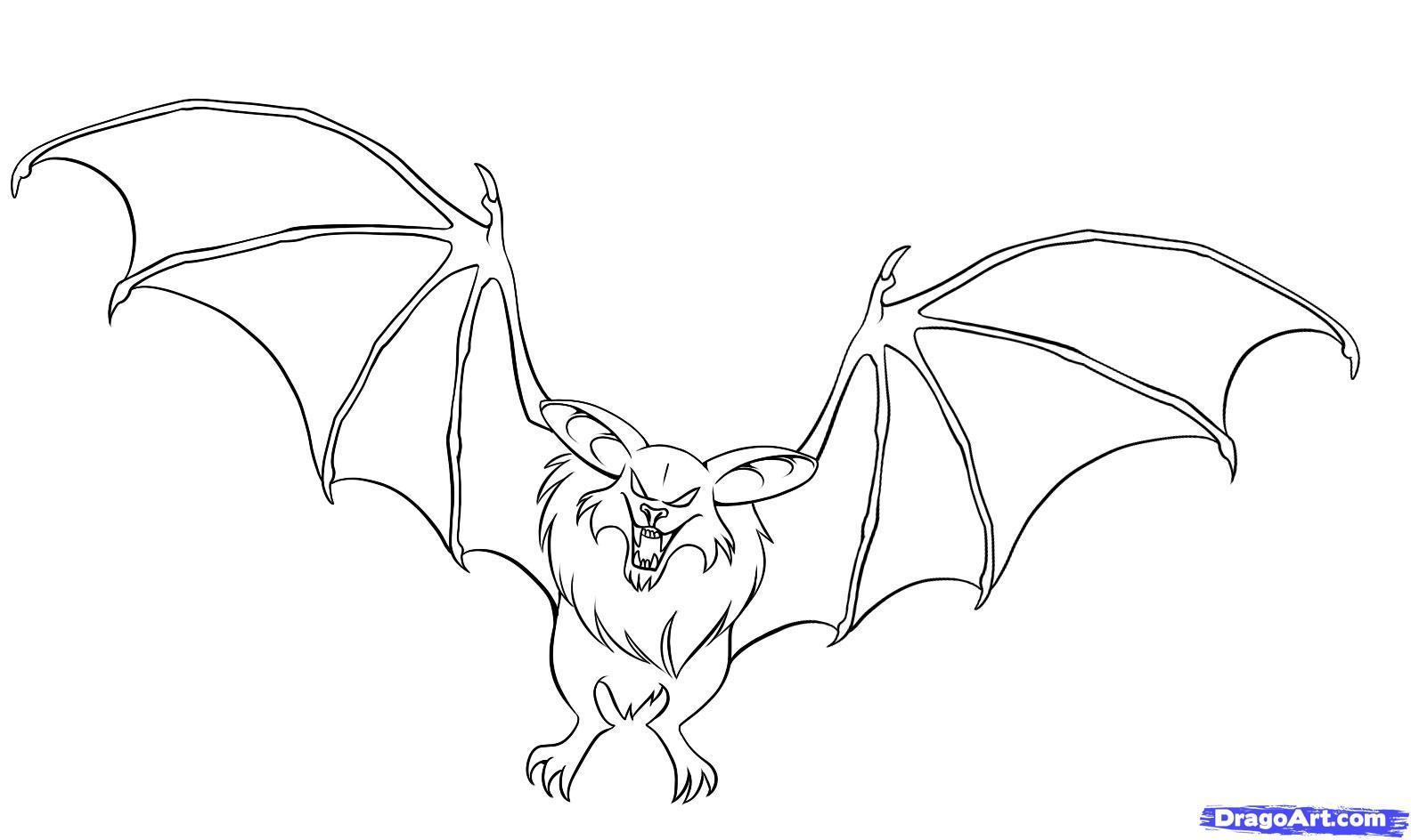 1584x944 Unbelievable Coloring Pages Draw A Bat
