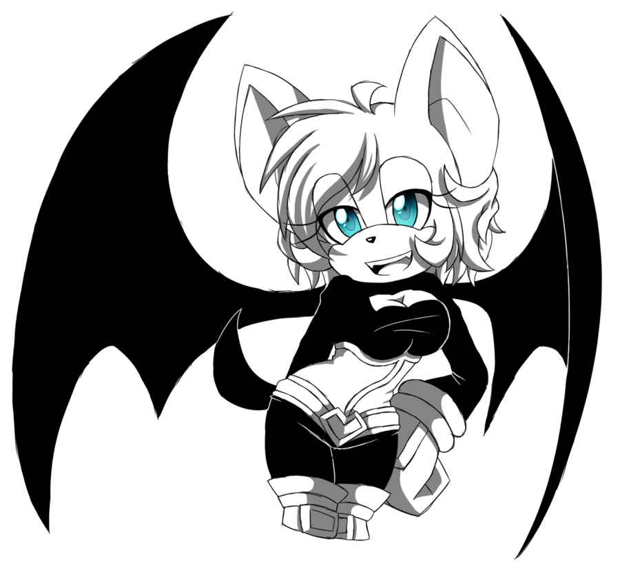 900x830 Sketch Rouge The Bat By Moriomii
