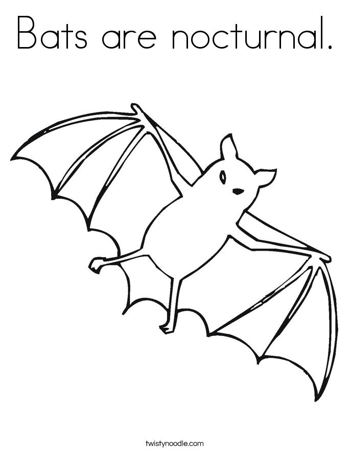 Bat Drawing Outline at GetDrawings | Free download