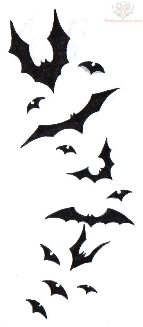 493x1123 Bat Outline