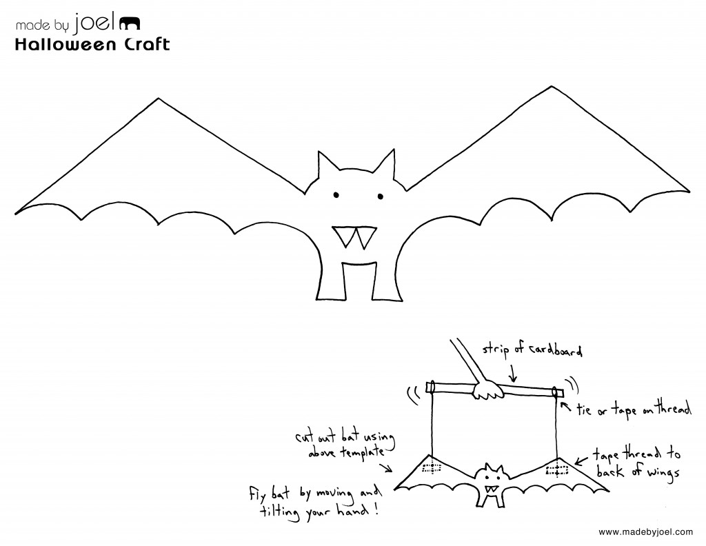 1024x792 Paper Crafts Templates Made By Joel Paper Bat Puppet