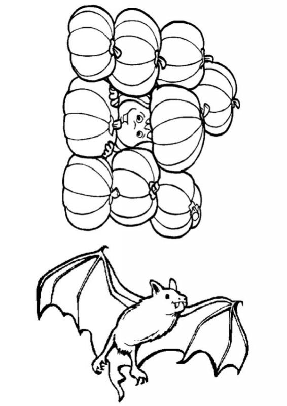 566x800 How To Craft Pumpkins And Bat Pattern