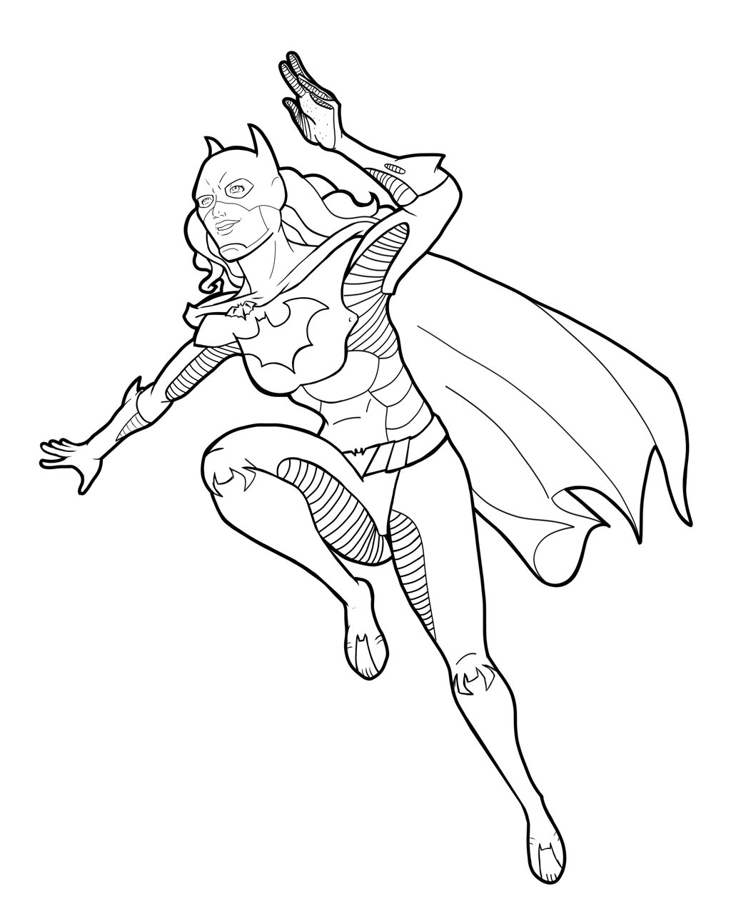 Batgirl Drawing