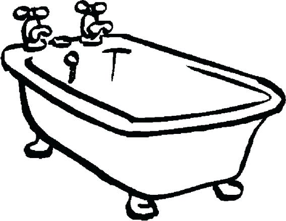 The Best Free Tub Drawing Images Download From 132 Free Drawings Of