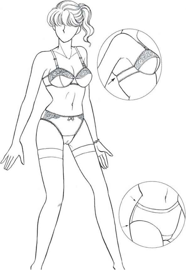 593x863 The Effect Of Underwear And Bathing Suits On The Female Figure