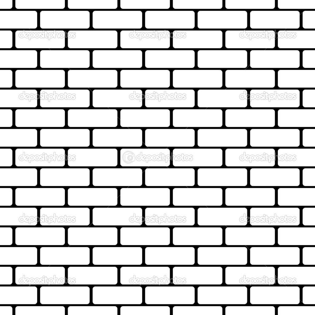 1024x1024 Drawing A Brick Wall Brick Wall Drawing Design Livingroom