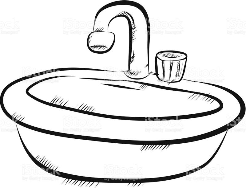 Bathroom Sink Drawing At Getdrawings Com Free For Personal Use Bathroom Sink Drawing Of Your
