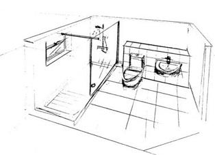 314x227 Bathroom Design Bathroom Design Drawings Development Sketches