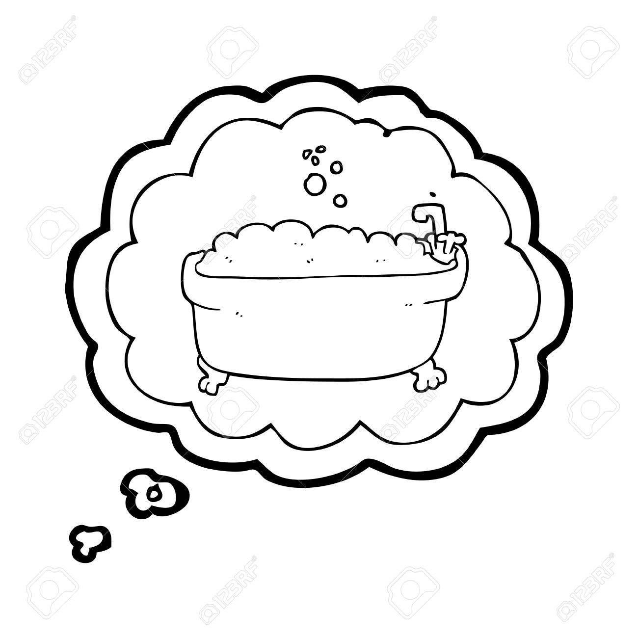 Cartoon Bathtub With Bubbles - Best Bathtub Design 2018