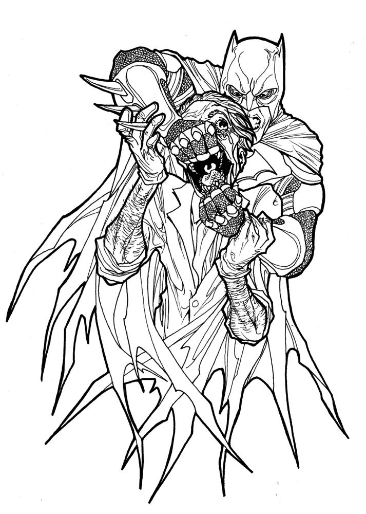 713x1000 Batman Vs Joker By Paterdixit