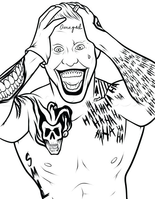 500x642 Ideal Batman And Joker Coloring Pages Print Coloring
