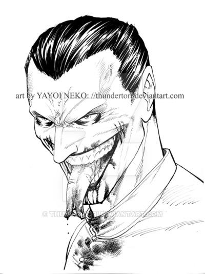 400x534 Rip Joker Portrait By Thundertori