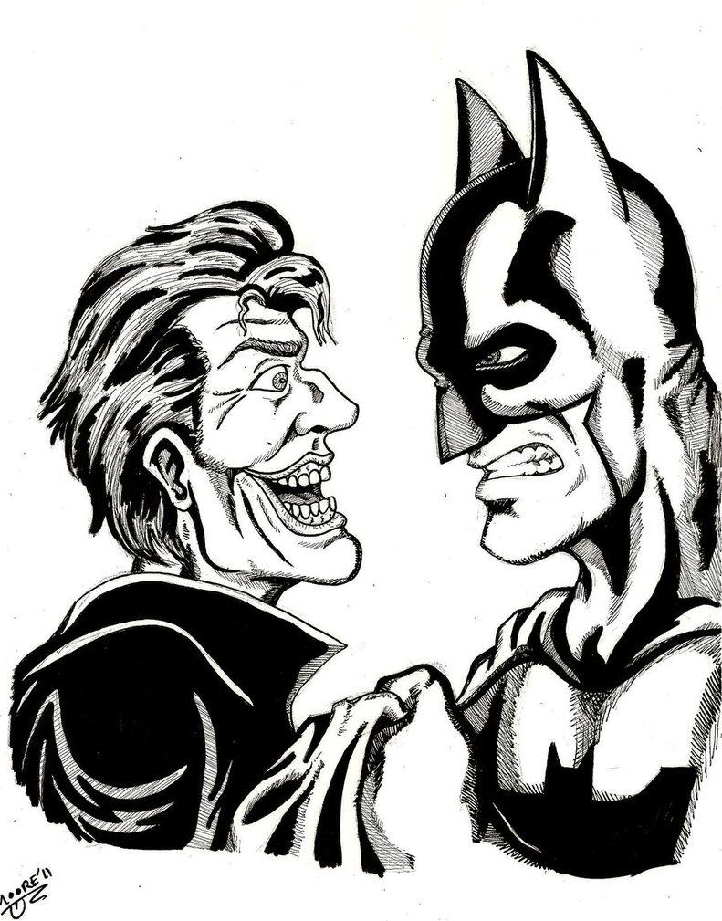 791x1009 Batman Manhandles Joker By Psych93