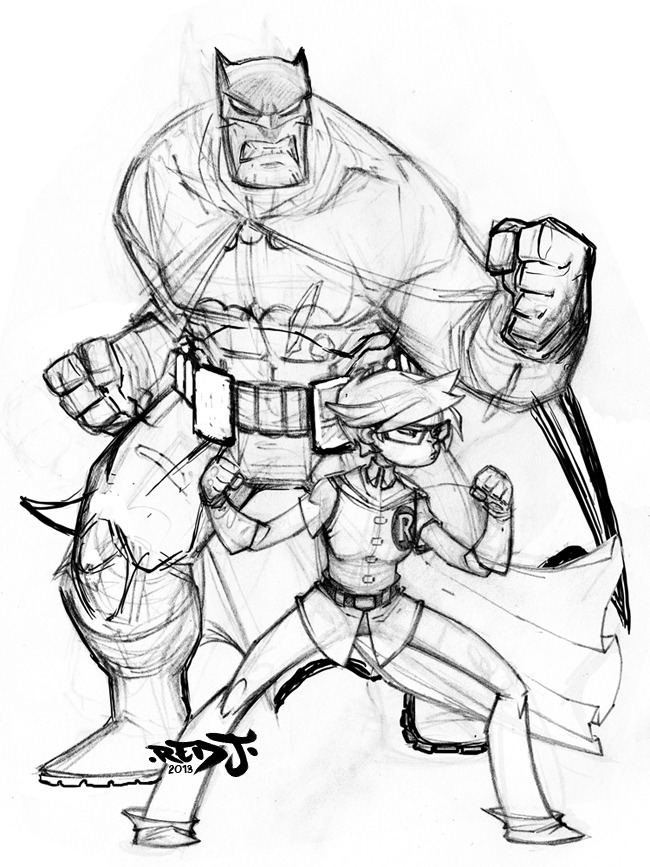 650x867 Batman Amp Robin By Jon Sommariva Batman Batman