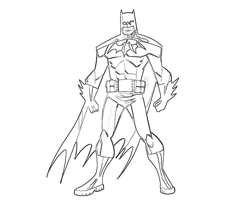 batman coloring pages dark knight - photo#19
