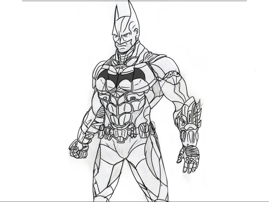 1032x774 Batman Arkham Knight By Thecoolminecraft
