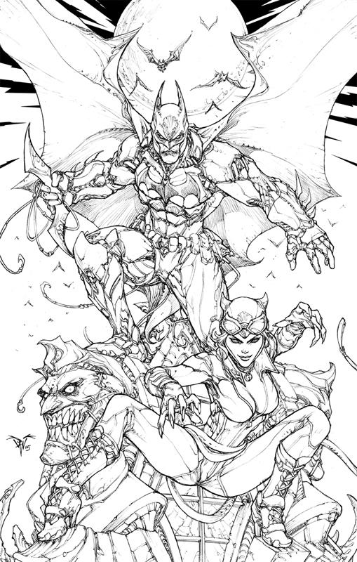509x800 Paolo Pantalena Batman Arkham Knights Comic Art Comic Art