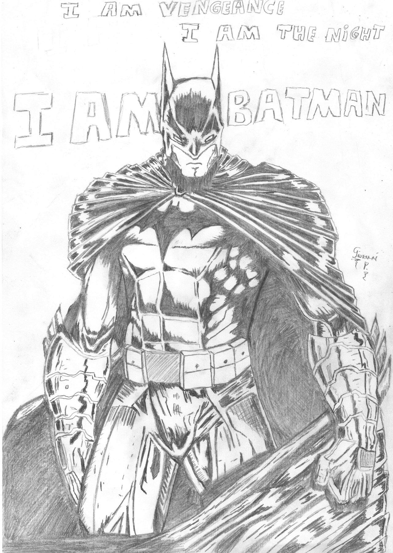1280x1797 Batman, The Dark Knight By Venatorunum