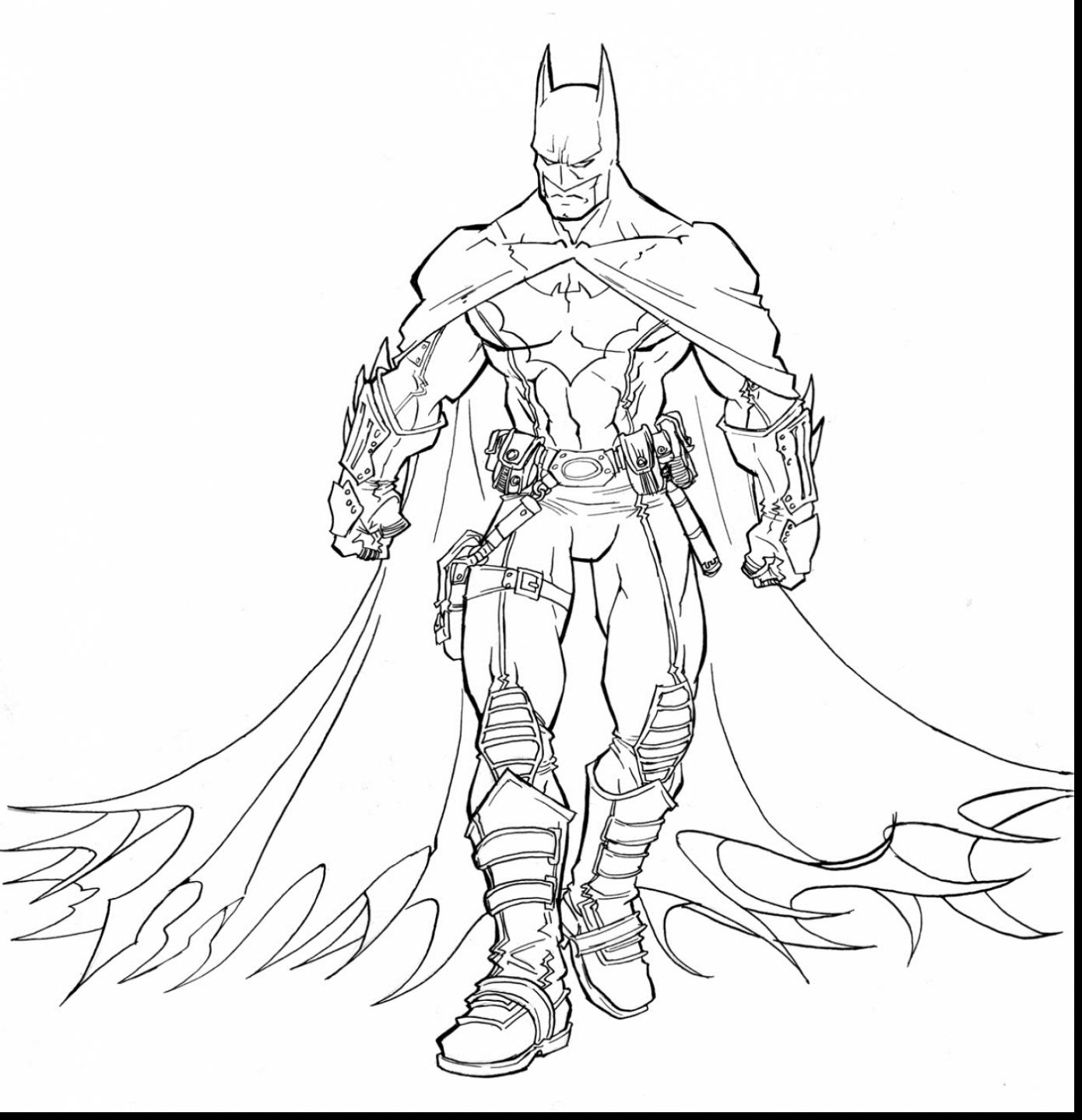 1390x1439 Amazing Batman Arkham Knight Coloring Pages With Coloring Pages
